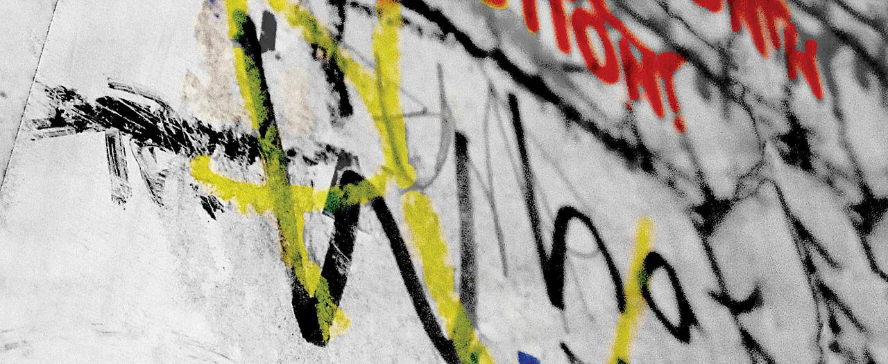 Zelfs als je graffiti spuit, zijn taalfouten gewoon slordig.
